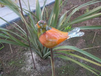 Vogel glas 2 (Merk: Gerry's Garden)
